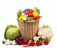 Healthy Organic Vegetables Stock Photos