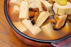 Healthy Oriental bean curd cuisine Stock Image