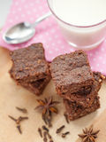 Healthy paleo brownies Royalty Free Stock Photo