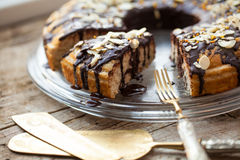 Healthy paleo cake Royalty Free Stock Images