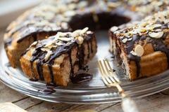 Healthy paleo cake Stock Photo