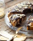Healthy paleo cake Royalty Free Stock Photos