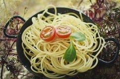 Healthy Pasta Royalty Free Stock Photography