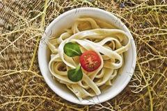 Healthy Pasta Royalty Free Stock Image