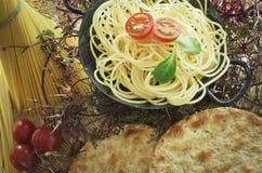 Healthy Pasta Stock Photography