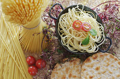 Healthy Pasta Stock Images