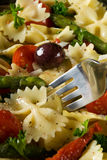 Healthy pasta meal Royalty Free Stock Photography