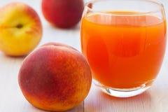 Healthy Peach juice Royalty Free Stock Image