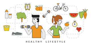 Healthy people Royalty Free Stock Photos