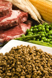 Healthy pet food Stock Images