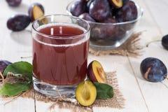Healthy Plum Juice Royalty Free Stock Photo