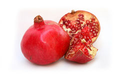 Healthy Pomegranate Stock Photography