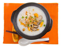 Healthy porridge cooked with sweet potato Royalty Free Stock Photo