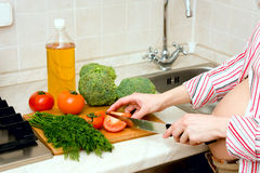 Healthy pregnancy Stock Image