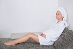 Healthy pregnancy Royalty Free Stock Images