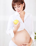 Healthy pregnancy concept Royalty Free Stock Images