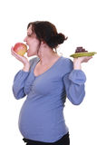 Healthy pregnant Stock Photography