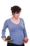 Healthy pregnant Stock Image