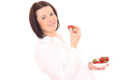 Healthy pregnant Stock Images