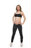 Healthy pregnant woman stock photos