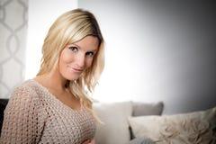 Healthy pretty woman portrait Stock Photography