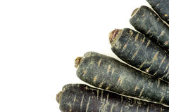 Healthy purple carrot organic background texture Royalty Free Stock Photography