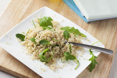 Healthy Quinoa Salad Stock Photo