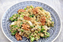 Healthy Quinoa Salad Royalty Free Stock Images