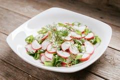 Healthy radish salad Royalty Free Stock Photography