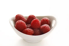 Healthy raspberries Stock Photography