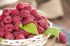 Healthy Raspberries Stock Images