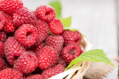 Healthy Raspberries Royalty Free Stock Images