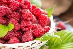 Healthy Raspberries Stock Photos