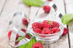 Healthy Raspberries Royalty Free Stock Photos