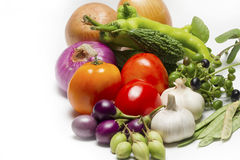 Healthy raw vegetable organic food stock image