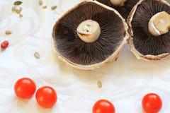 Healthy raw, vegetarian food Stock Photos