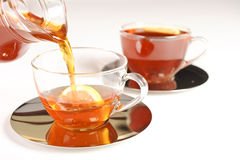 Healthy red bush tea from South Africa Royalty Free Stock Photography