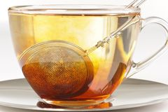 Healthy red bush tea from South Africa Royalty Free Stock Images