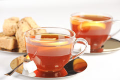 Healthy red bush tea from South Africa Royalty Free Stock Image