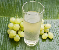 Healthy refreshing grape juice Stock Photo