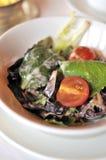 Healthy and refreshing salad Royalty Free Stock Photos