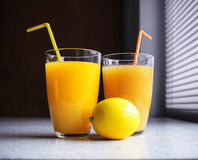 Healthy refreshment Stock Images