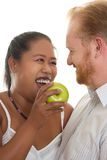 Healthy Relationships. Healthy happy relationships Stock Image