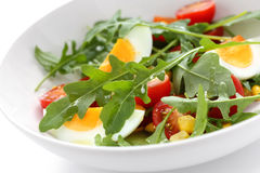 Healthy rocket salad Stock Image