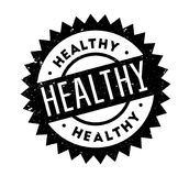 Healthy rubber stamp Stock Photo