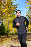 Healthy runner in park Royalty Free Stock Photography