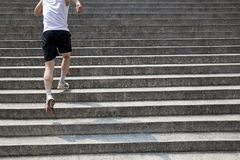 Healthy running Royalty Free Stock Images