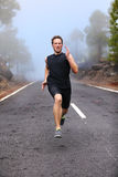 Healthy running runner man workout Royalty Free Stock Photography