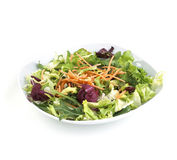 Healthy Salad with Carrots Royalty Free Stock Photos