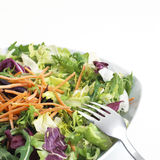 Healthy Salad with Carrots Stock Photo
